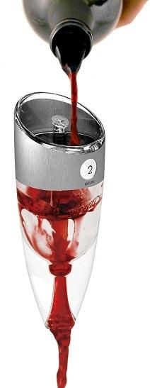 L 39 a rateur de vin r glable for Aerateur de vin darty
